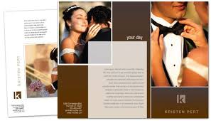 wedding photography brochure template tri fold brochure template