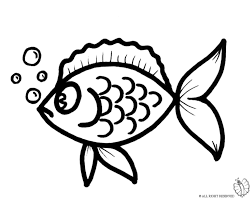 coloring fish making bubbles coloring kids