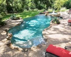 Natural Backyard Pools by Freeform Pool Designs Mckinney Natural Pool Designs