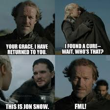 Jon Snow Memes - most entertaining game of thrones memes in the web
