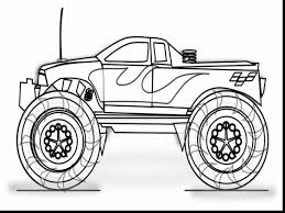 impressive monster truck coloring pages with monster jam coloring