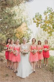 excellent coral bridesmaid dress design ideas 5915