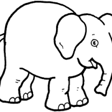 elephant coloring pages toddlers archives mente beta