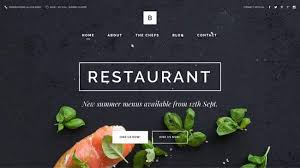 website designs bridge modern restaurant website design by qode