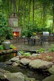 Outdoor Ideas For Backyard 25 Unique Backyard Stream Ideas On Pinterest Garden Stream