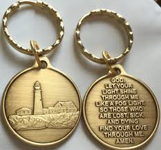 Medallion Homes Floor Plans by Fog Light Prayer Keychain Light House Aa Medallion Bronze Foglight