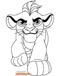 lion guard coloring pages
