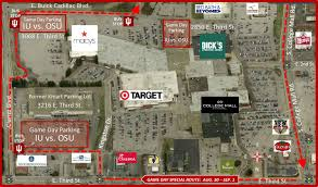 Ohio Stadium Map by Iu Osu Football Game Day Parking Info Parking Rules Office Of