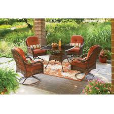 Better Homes And Gardens Dining Table Better Homes And Gardens Azalea Ridge 5 Piece Patio Dining Set