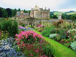 Most Beautiful English Castles Abbotsford Melrose Scottish Borders Home Of Sir Walter Scott