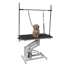 large dog grooming table large hydraulic dog grooming table pisces ffh 801 amazon co uk