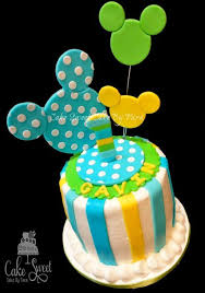 baby mickey mouse smash cake cupcakes cakesdecor sawyers 1st