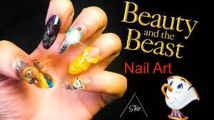 beauty and the beast nail art youtube
