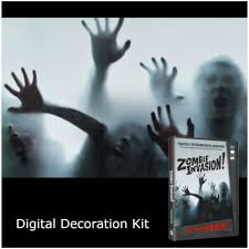 werewolf halloween decorations halloween digital decorations projector kit mad about horror
