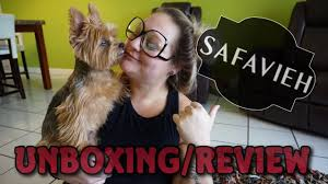 Safavieh Leather Shag Rug Safavieh Leather Shag Rug Unboxing Review