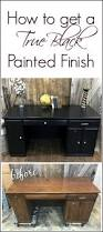 Modern Desk Hutch by 25 Best Painted Desks Ideas On Pinterest Refinished Desk Desk