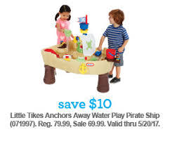 Little Tikes Anchors Away Pirate Ship Water Table Babies R Us Summertime Savings For The Whole Family Milled