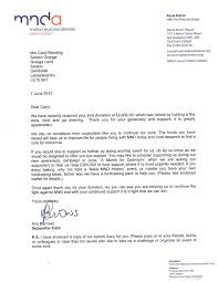 patriotexpressus gorgeous mnda letter with engaging sample thank