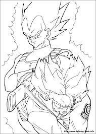 dragon ball coloring pages coloring book