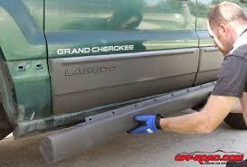 jeep grand cherokee wj bushwacker flares maaco paintjob off road com