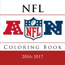 nfl coloring book 32 nfl american football team logos