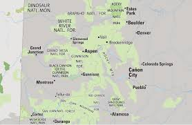 Canyon City Colorado Map by Maps Of Colorado State Collection Of Detailed Maps Of Colorado