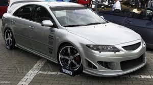 mazda m6 mazda 6 tuning body kit youtube