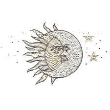 s5219 sun and moon symbol symbols isaacs designs