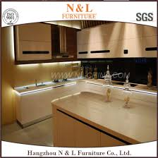 lacquered glass kitchen cabinets china modern kitchen cupboard with mdf lacquer glass doors