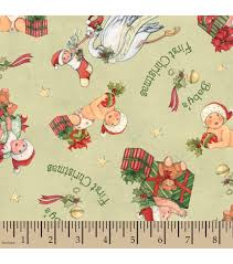 holiday inspirations christmas fabric susan winget baby u0027s first