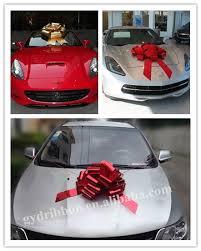 car bow ribbon 30 gift ribbon car bow decoration for wedding invitation