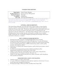 project management experience resume architectural project manager jobs sample project management