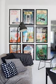 Posters For Living Room by Best 25 Poster Wall Ideas On Pinterest Modern Futon Frames