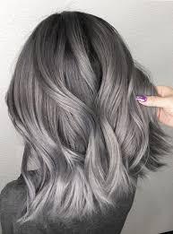 medium length hair with ombre highlights dark ombre with ash highlights for medium hairstyles 2018