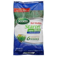 scotts 21 5 lb 5 000 sq ft turf builder starter food for new