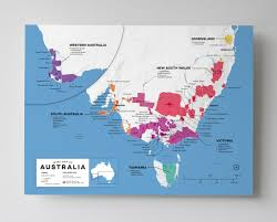 Map Of France Wine Regions by Detailed Australian Wine Regions Map Wine Posters Wine Folly