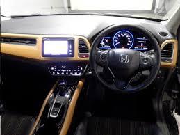 Honda Vezel Interior Pics Ru3 May2016