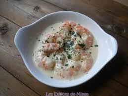 cuisiner des gambas sci ou gambas à la crème d ail et au riesling les délices de mimm