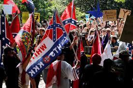 Confederate Flag In Virginia Klan Members Rally Against Removal Of General Lee Statue In Virginia