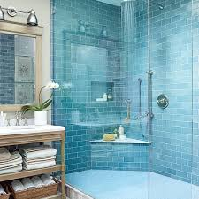 Interior Blue Beach House Bathrooms Coastal Living