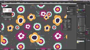 adobe illustrator random pattern create a random repeat in illustrator cc youtube