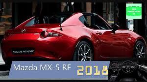 mazda motors uk 2018 mazda mx 5 rf for uk with new performance skyactiv g engines
