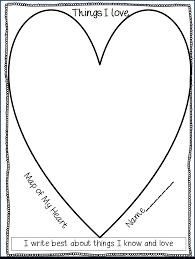 Writing Maps Heart Maps Inside Heart Map Roundtripticket Me