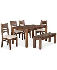 rustic dining tables macy u0027s