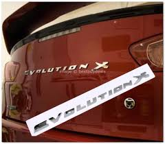 mitsubishi badge mitsubishi lancer evolution x rear bi end 1 4 2015 8 15 pm