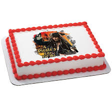 amazon com pirates of the caribbean pirate u0027s life edible icing