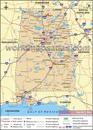 Alabama State Map Political Map Of Alabama Alabama Political Map