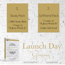 Bible Study Invitation Cards Launch Day For Is Jesus Worth It Stacey Thacker