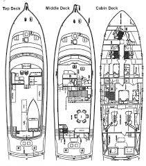 yacht floor plans zicke boat plans yacht