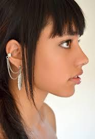 wearing ear cuffs ear cuff designs women style